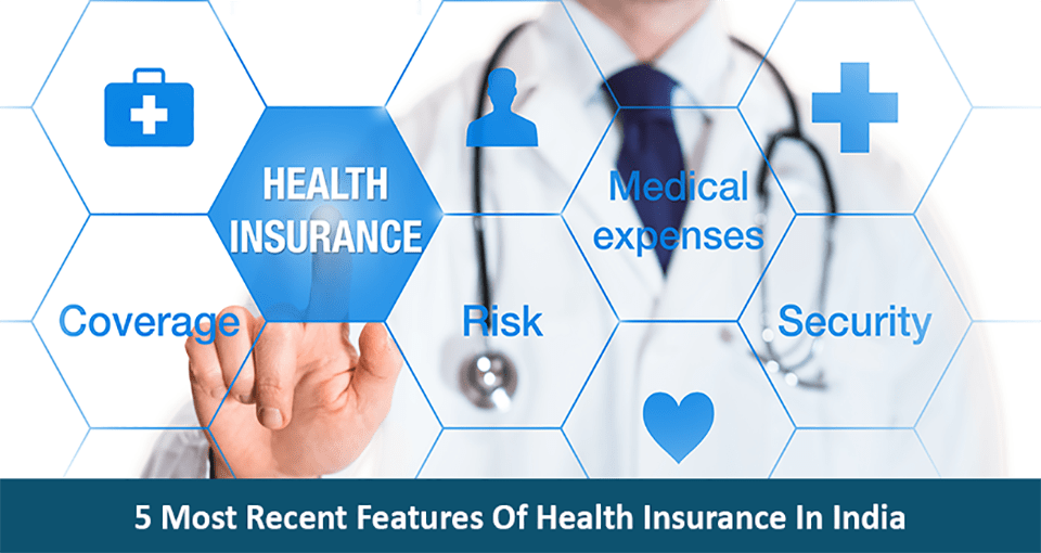 5 Most Recent Features Of Health Insurance In India