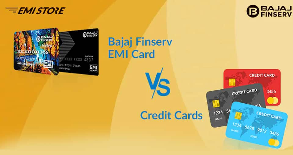 Bajaj EMI Card vs Credit Card