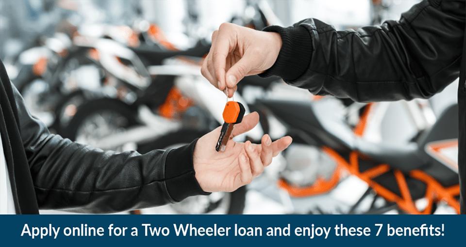 Advantages of Two wheeler loan