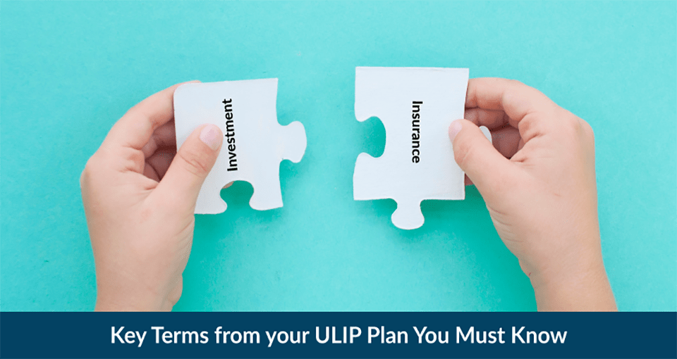 Key Terms from your ULIP Plan .