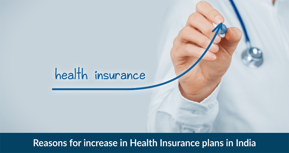 Reasons for increase in Health Insurance plans in India