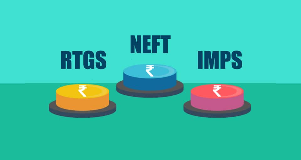 Difference Between RTGS, NEFT & IMPS