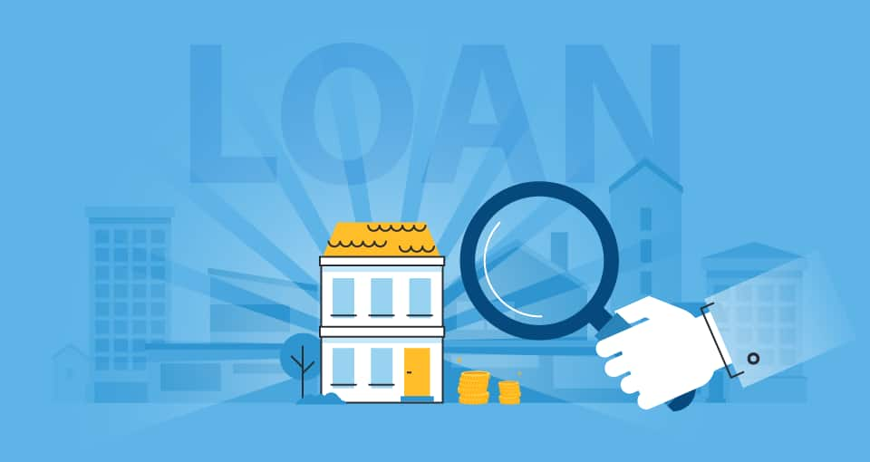 What is flexi – dropline feature in loan against property?