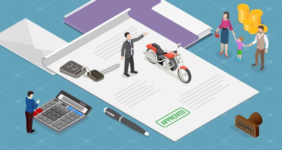 Get easy two wheeler loan