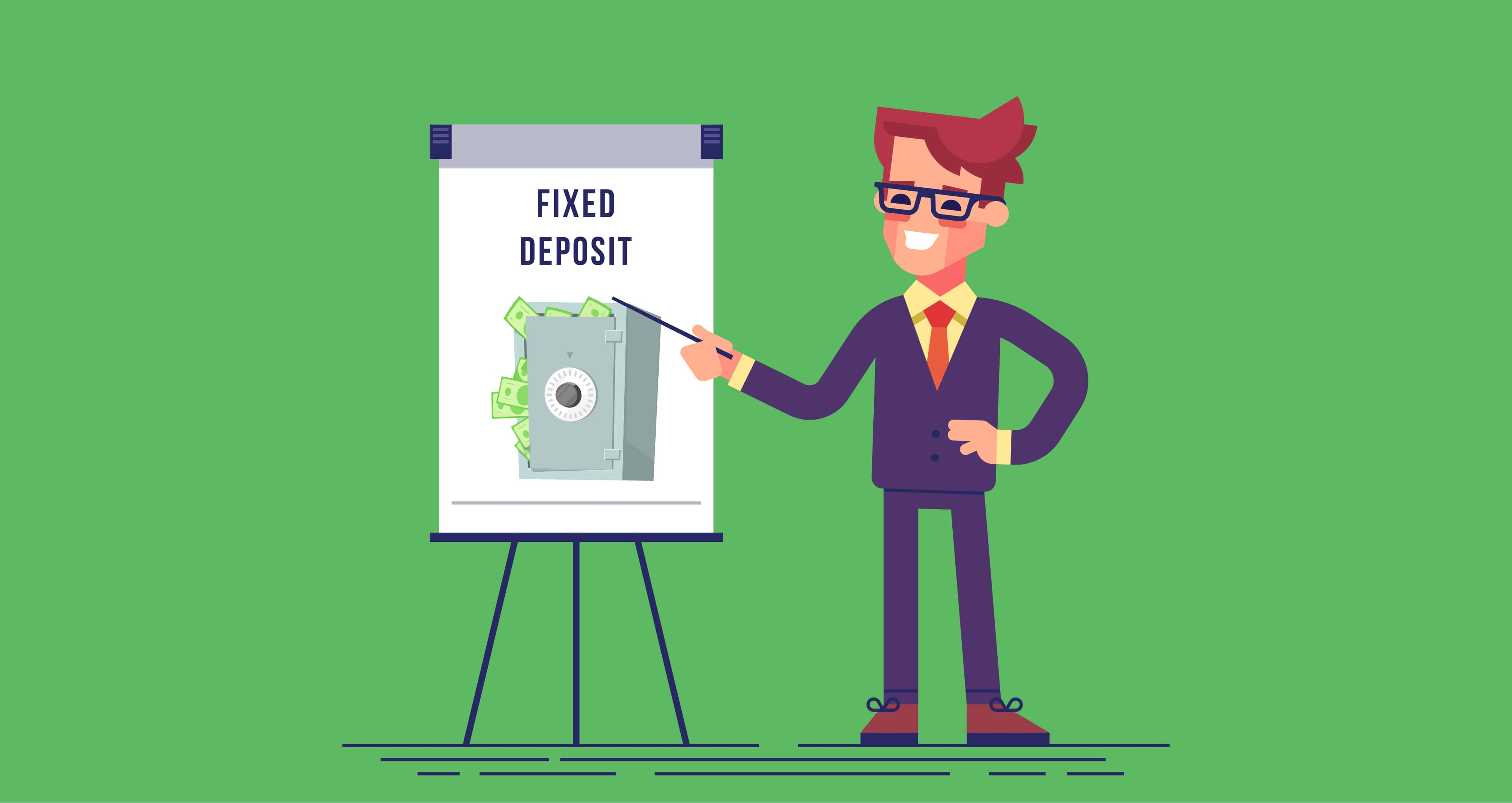 Are returns on fixed deposits taxable