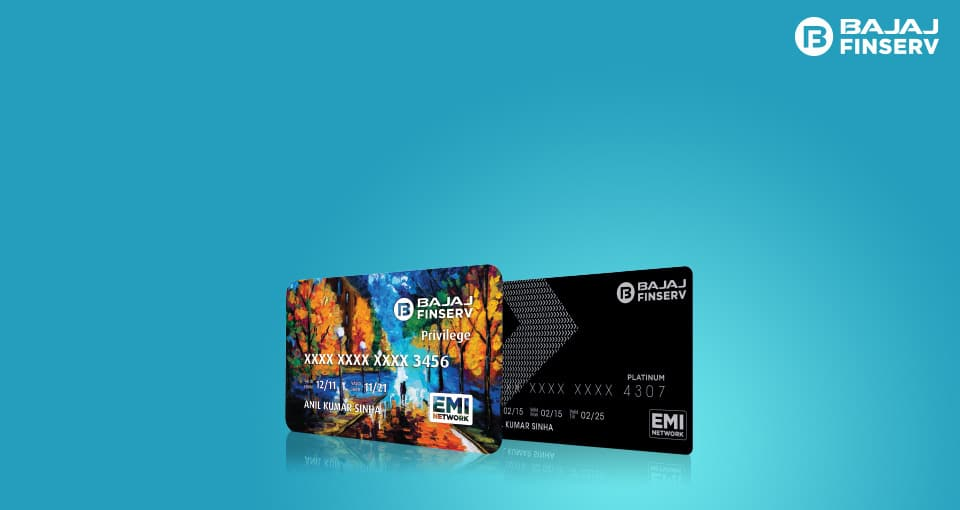 Shop with an EMI Card at any of the partner stores/online website