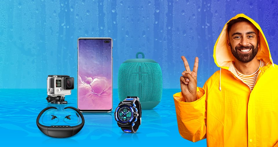 Best Water-Resistant Electronic Gadgets to beat the monsoon blues!