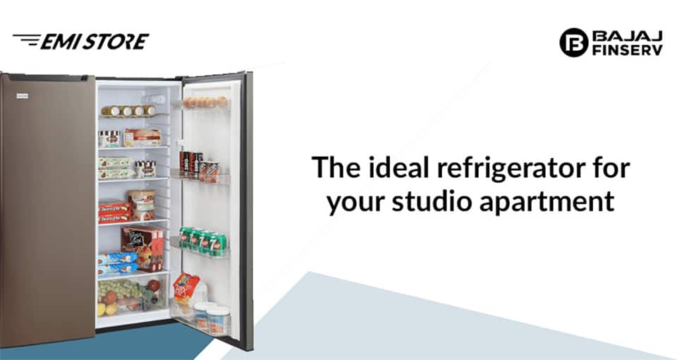 The ideal refrigerator for your studio apartment