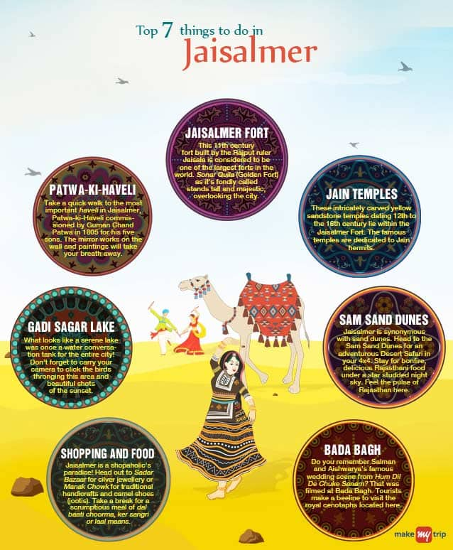 Start your new year with a desert safari in Jaisalmer