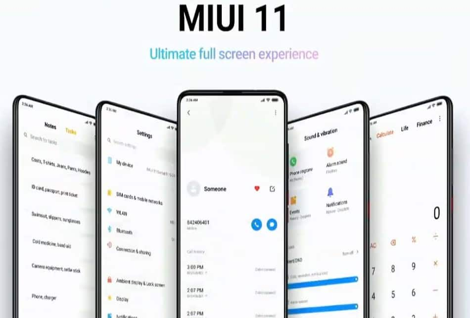 All there is to know about the Latest MIUI 11 Update