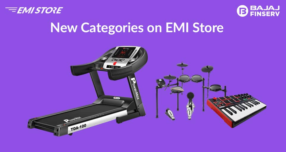 New categories on EMI store