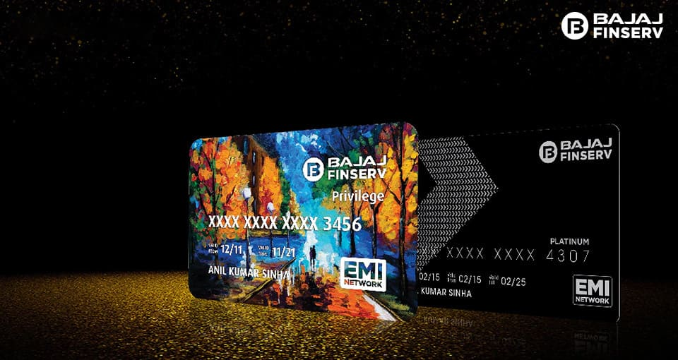 how to access your bajaj emi card