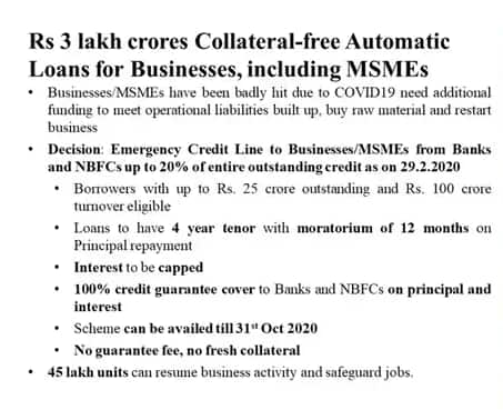 Subordinate Debt Scheme for MSME's